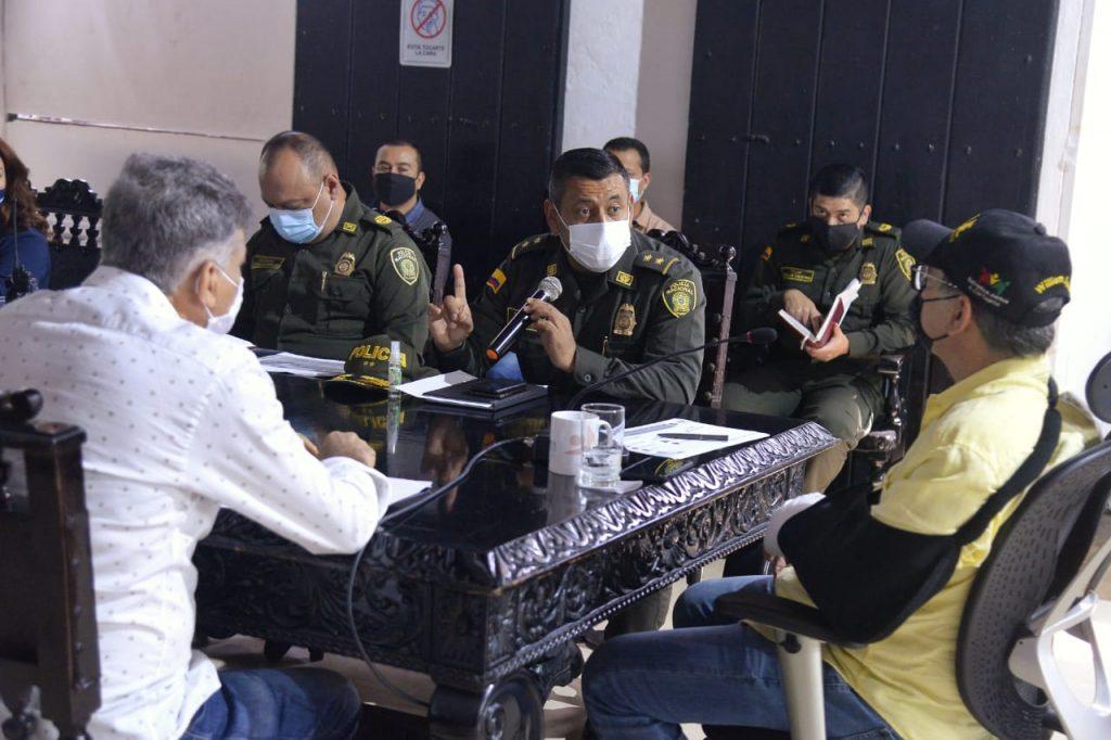 Primer Consejo de Seguridad concluye que en el año de la pandemia hubo un 30% de disminución de delitos.