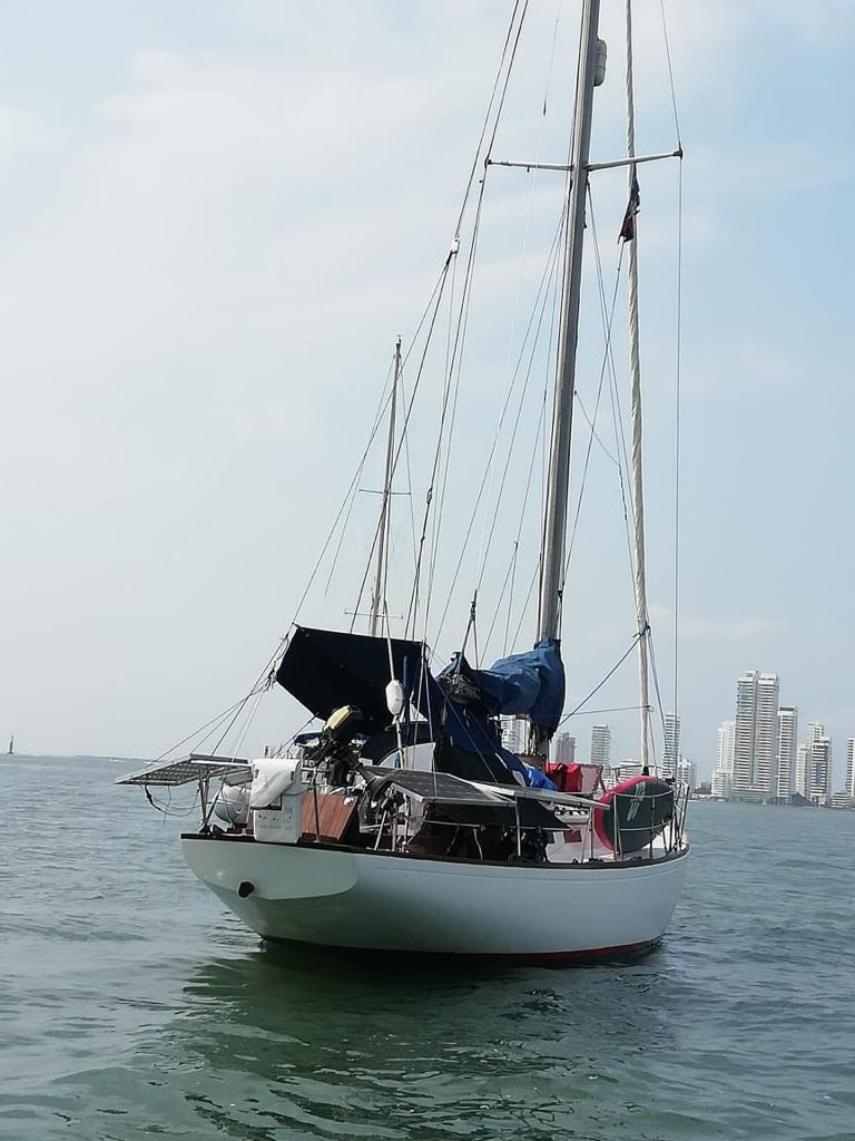 Diamar adelantan inspecciones a las diferentes embarcaciones fondeadas en la bahía interna de Cartagena.
